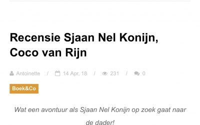 Only by me recenseert Sjaan Nel Konijn!